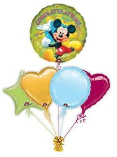 Mickey Mouse Congratulations.