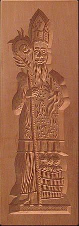 Saint Nicholas Speculatius Mold