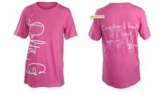 big little love shirt idea for Chi O of course