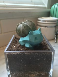 3D Printed Bulbasaur Planter