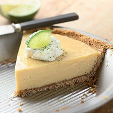 Key Lime Pie - the combination of tangy-sweet, smooth filling in a crisp crust is a soothing symphony of flavors and textures.