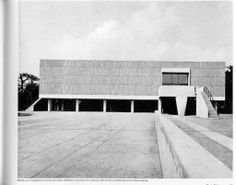 Museo Nacional de Bellas Artes de Occidente, Tokio, 1957-1959