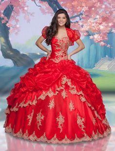 Vestidos de princesa para quinceañeras de Impression Bridal