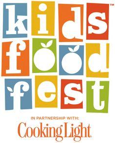 Cooking Light Kids Food Fest logo - Google Search