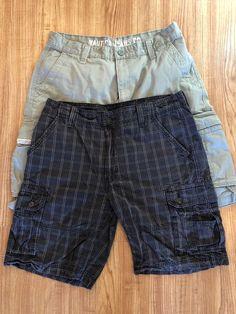 f3da8c26f7 Lot Of 2 Cargo Shorts Size 36 Nautica / Levis #fashion #clothing #shoes