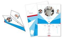 Kartenschiff Papierfliegerkarten: einfach online personalisieren und professionell drucken lassen.