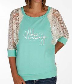 'BKE Lounge Pieced Sweatshirt' #buckle #fashion  www.buckle.com