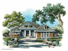 Eplans Prairie House Plan - Wide Views - 2907 Square Feet and 3 Bedrooms from Eplans - House Plan Code HWEPL05571