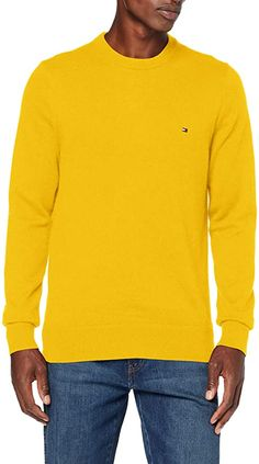 Pullover  Bekleidung, Herren, Pullover & Strickjacken, Pullover Tommy Hilfiger, Sweatshirt, T Shirt, Jumper, Cashmere, Crew Neck, Long Sleeve, Sleeves, Sweaters