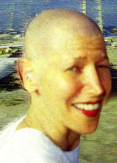 April Greiman, self-titled Bullethead 1997, original photo: Atila