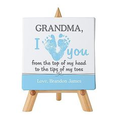 An Adorable Grandma Gift From The Baby New Will Adore This Cute