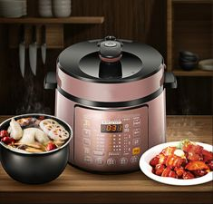 Electric Pressure Cookers pressure cooker intelligent electric double bravery home cooking pot. Best Electric Pressure Cooker, Cookers, Diaper Bag, Backpack, Kitchen Appliances, Diy, House, Decor, Pressure Cooker Cake