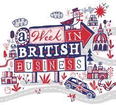 British Business by Nate Williams Illustration and Hand Lettering