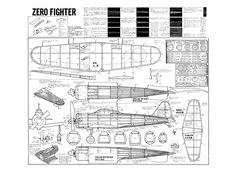 Zero Fighter - plan thumbnail