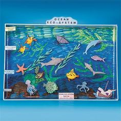 how to make aquarium from shoebox