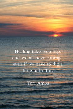 Healing takes courage! #journaling #courage #quotes #inspiration #healing #loss #grief #divorce #cancer #caregiver