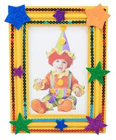 Portarretrato / Marco de madera / Recuerdo de fiestas infantiles / Día del niño