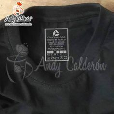 Etiqueta para ropa termoadherible color platatallas surtidas playera de  algodón hecha en méxico playera eurocotton playera ebf8714dd6ce5