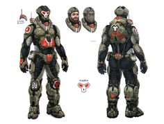 ArtStation - Armor concepts, Oskars Pavlovskis