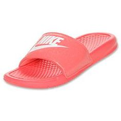 timeless design ddec5 28fdd Nike Benassi JDI Swoosh Sandals Nike Sandals, Nike Slides, Nike Benassi, Nike  Shoes