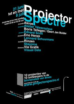 Projector Spectre - #Typography #Design/#layout