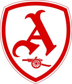 A re-design of the Arsenal badge using elements of old badges.