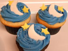Moon and star baby shower