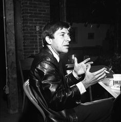 Three Photos: Leonard Cohen With Leather Jacket And Cigarette 1964