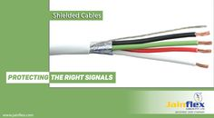 In need of Shielded Cables!! Meet with leading #Shielded_Cable_Manufacturer in India i.e. JainFlex. As they offer superior grade of cables with highly durability, longevity and cost effectiveness.
