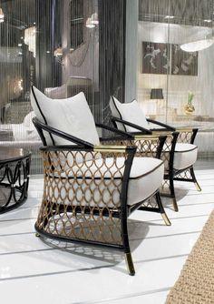 Sofas Ideas | Bramante chair for garden and terrace by Visionnaire | www.bocadolobo.com #outdoorsofas #sofasideas