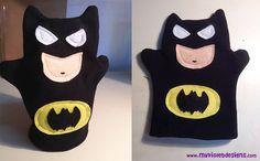 Marioneta de batman. myvioletdesigns.com