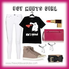 """Boy meets Girl"" by cookiek on Polyvore"