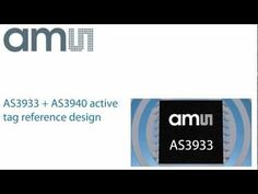 ams' Active Tag Reference design -  Semiconductors made in Austria - http://www.ams.com