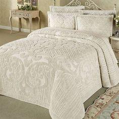 Ashton Cotton Chenille Bedspread Bedding