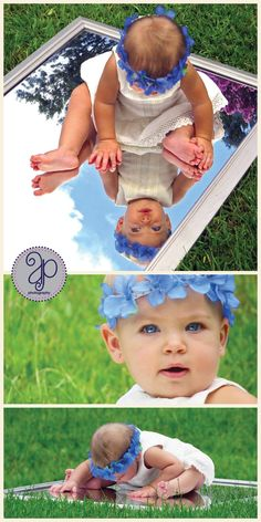 baby + mirror photography idea... absolutely love this idea! Must do when I have a baby!