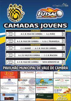 ACR: Futsal [formação] > 17 e 18 Mai 2014  #ValeDeCambra #futsal