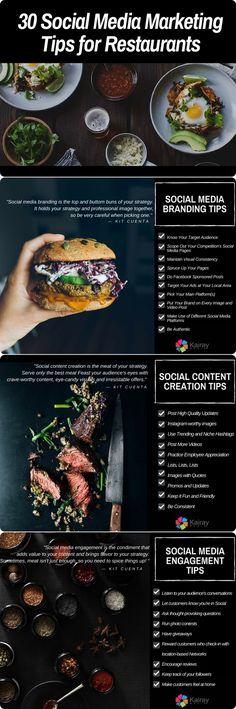 Social Media Marketing Tips for Restaurants #smm
