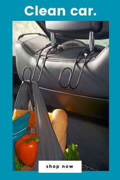 Contour Headrest Car Hooks