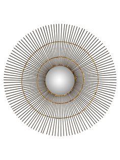 Sun Orbit Mirror from Safavieh Lighting & Mirrors on Gilt