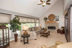 half vaulted ceiling living room - Google Search