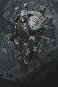 Warhammer 40k Art, Warhammer Fantasy, Character Art, Character Design, Arte Cyberpunk, Space Wolves, Art File, Space Marine, Fantasy Artwork