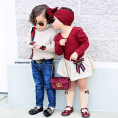 Alessandro is rocking a sweater and shoes from Ariella's bodysuit Purse , shoes and socks Headwrap Cute Kids Fashion, Little Boy Fashion, Cute Outfits For Kids, Baby Girl Fashion, Toddler Fashion, Toddler Girl Style, Toddler Girl Outfits, Baby Girl Dresses, Boy Outfits