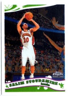 2005-06 TOPPS CHROME SALIM STOUDAMIRE ROOKIE CARD in Sports Mem, Cards & Fan Shop, Cards, Basketball | eBay $0.01