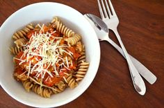 Honey Kissed Kitchen, clean spaghetti sauce