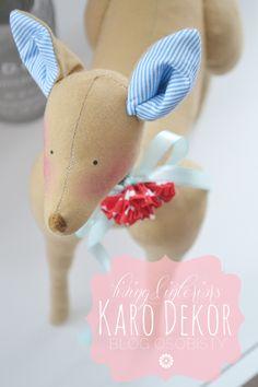 deer, roe deer, blue, toy, cuddly, christmas