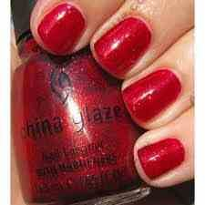 Perfect holiday color!!  Ruby slippers :)