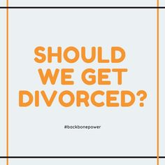 Should we get divorced? Divorce, Breakup, Audio Books, The Help, My Books, This Or That Questions, Breaking Up