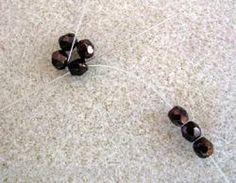 Pattern bijoux: Ciondolo Quadrato