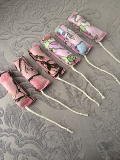 Reusable cotton flannel tampons by TheHolisticGoddess on Etsy