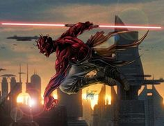 Darth Maul. Sweet.